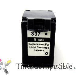 Tinta reciclado compatible HP 337 - Negro