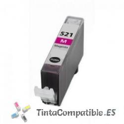 Tintas compatibles Canon CLI 521 Magenta
