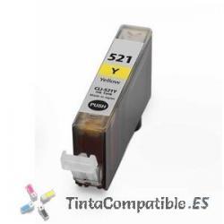 Tintas compatibles Canon CLI 521 Amarillo