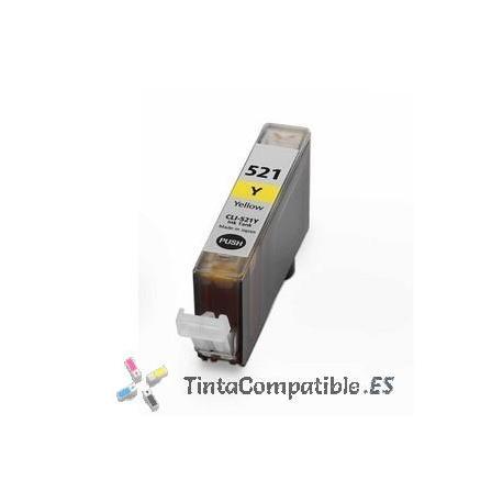 www.tintacompatible.es / Tinta compatible CLI 521 Amarillo