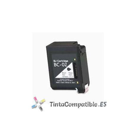 www.tintacompatible / Cartuchos reciclados Canon BC 02 / BX 2 negro