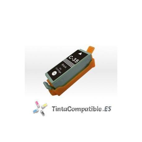 www.tintacompatible.es / Tinta compatible Canon PGI 35 negra