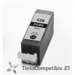 Tintas compatibles Canon PGI 520BK Negro