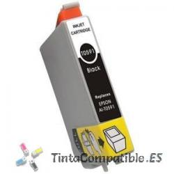 Tinta compatible Epson T0591 negro photo