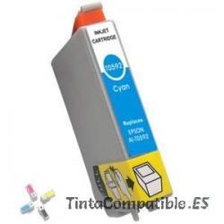 Tinta compatible Epson T0592 cyan