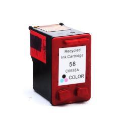 Cartuchos de tinta reciclado HP 58 tricolor