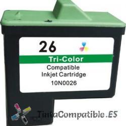 Tinta compatible Lexmark 26 tricolor