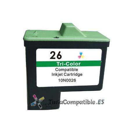 Tinta compatible Lexmark 26