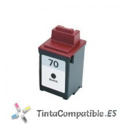 Cartucho de tinta compatible Lexmark 70 negro
