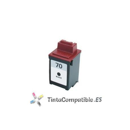 www.tintacompatible.es / Tinta remanufacturada Lexmark 70 negro