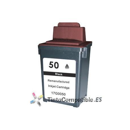 www.tintacompatible.es / Tinta alternativa Lexmark 50 negra