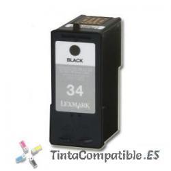 Tintas compatibles Lexmark 34 Negro