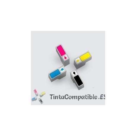 Tintas compatibles HP 302XL negras sustitutas