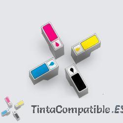 Tintas compatibles HP 302XL color