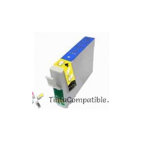 Tinta compatible EPSON T0712 / T0892 / Cyan