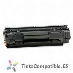 Cartucho toner compatible CB436A Negro