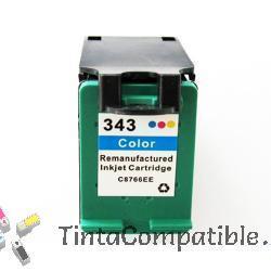 Cartuchos de tinta reciclados HP 343 color