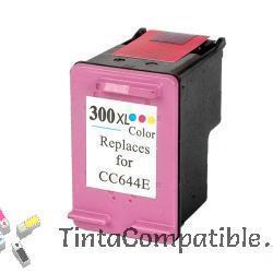 Cartucho de tinta compatible HP 300XL color