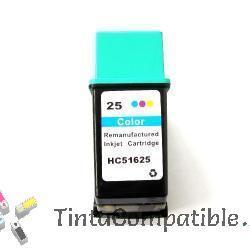 Cartuchos de tinta reciclado HP 25 color
