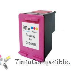 Cartucho de tinta compatible HP 301XL color