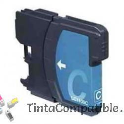 Tinta compatible BROTHER LC980, LC1100 cyan