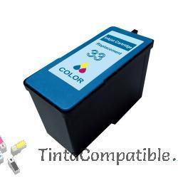 Tinta compatible Lexmark 33 color