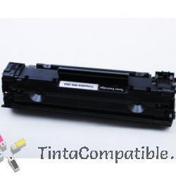 Toner compatible CE285A - CRG725 - Negro