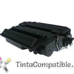 Toner de impresora HP CE255X Negro compatible.