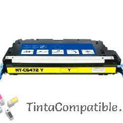 Cartucho de toner compatible Q6472A amarillo