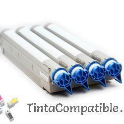 Toner compatible OKI C9600 - C9800 negro