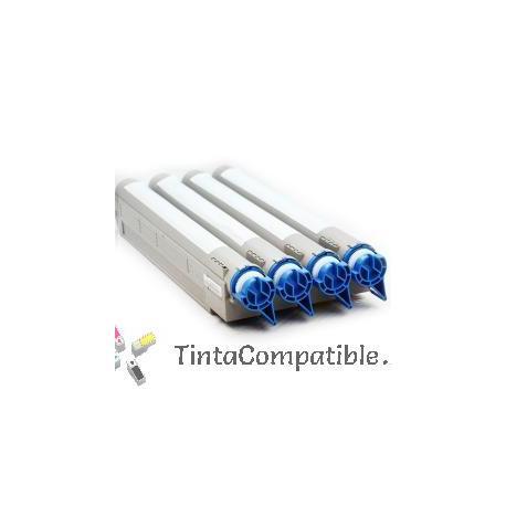 Toner compatible C9600 - C9800 cyan