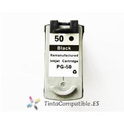 Cartucho tinta compatible Canon PG 50