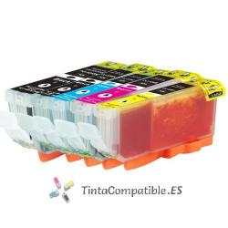 Tinta compatible Canon CLI 526 cyan