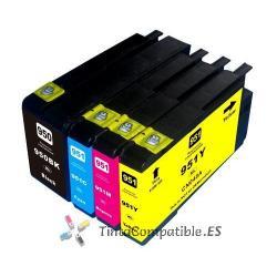 Tinta compatible HP 951 XL cyan