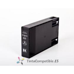 www.tintacompatible.es / Tinta compatible T7011 negro