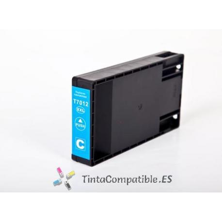 www.tintacompatible.es / Tinta compatible T7012 cyan