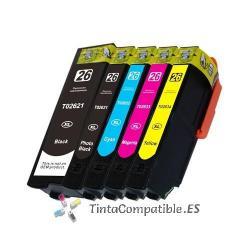 www.tintacompatible.es / Tinta compatible barata T2634 amarillo