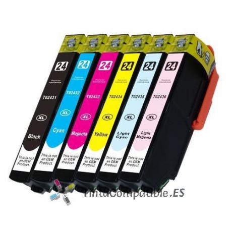 www.tintacompatible.es / Tinta barata Epson T2433 magenta