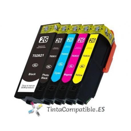 www.tintacompatible.es / Tinta compatible T2631 negro photo