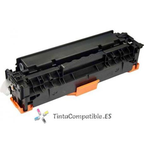 Toner compatible CE412A amarillo