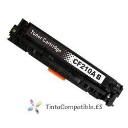 Toner compatible CF210 negro