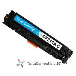 Toner compatible CF211 cyan