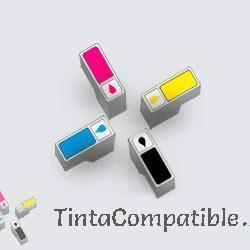 Pack toners compatibles CB540A, CB541A, CB542A, CB543A.