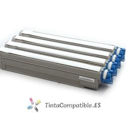 www.tintacompatible.es / Cartuchos de toner compatibles OKI C910 cyan