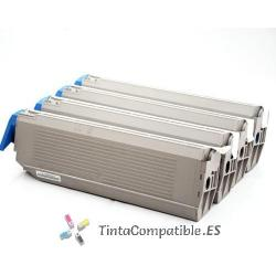 www.tintacompatible.es / Cartuchos de toner OKI C9100M - C9200M - C9300M magenta