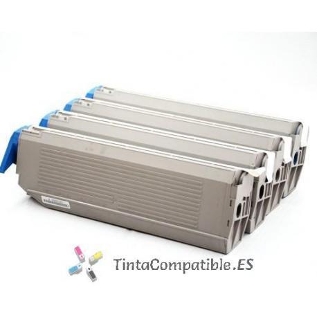 www.tintacompatible.es / Toners compatibles OKI C9100Y - C9200Y - C9300Y amarillo