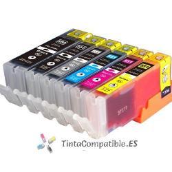 www.tintacompatible.es / Tintas baratas Canon CLI 551xl gris