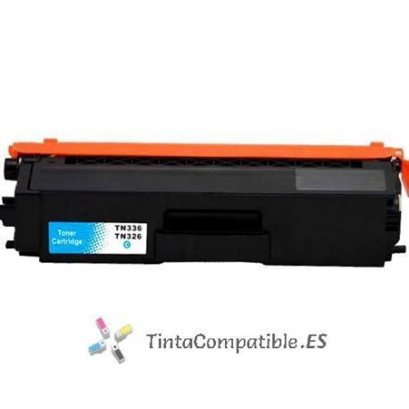 www.tintacompatible.es / Toner compatibles TN321 - TN326 cyan