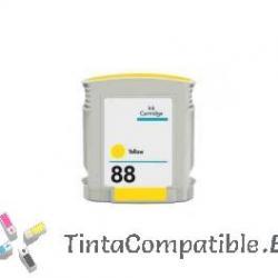 Cartucho de tinta compatible HP 88XL amarillo
