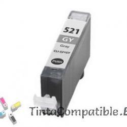 Tintas compatibles Canon CLI 521 gris